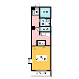 ラ・トゥールナリタ[2階]の間取り