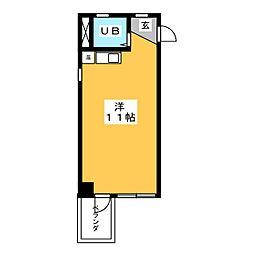 フロムイースト[4階]の間取り