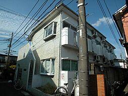 東京都調布市菊野台3丁目の賃貸アパートの外観