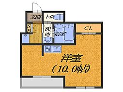 大阪府堺市堺区中之町西3丁の賃貸マンションの間取り