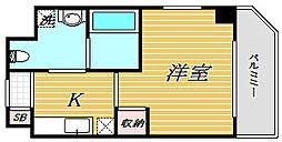 東京都豊島区高田2丁目の賃貸マンションの間取り