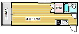 グランシャトー北加賀屋[4階]の間取り