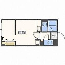 パラッツォS8[2階]の間取り
