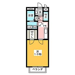 alveare[1階]の間取り
