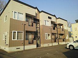 北海道札幌市北区新琴似十二条1丁目の賃貸アパートの外観