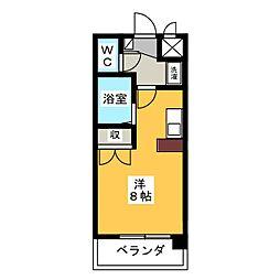 グランデュール56[2階]の間取り