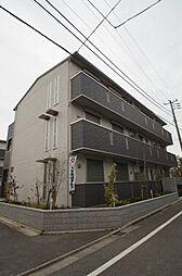 東京都大田区南雪谷5丁目の賃貸アパートの外観