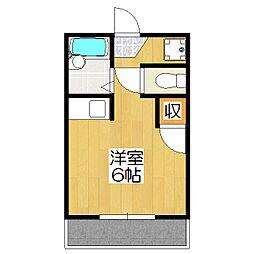 藤田マンション[2階]の間取り