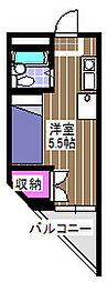 セフィール永山[302号室]の間取り