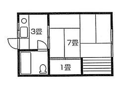 内野駅 1.2万円