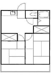 コムロハイム[2階]の間取り