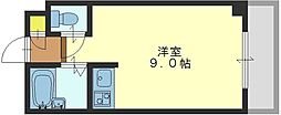 H2O高井田ビル[703号室]の間取り