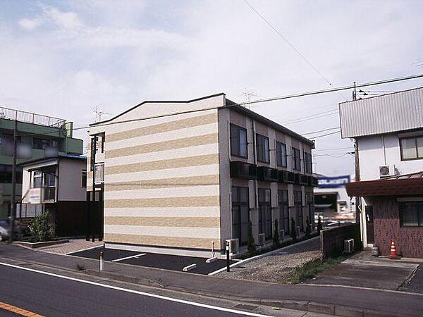 レオパレスNAKATSU[103号室]の外観