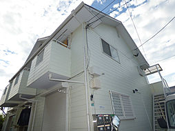 ハイツグローリーA棟[2階]の外観