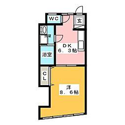 大横ビル[3階]の間取り