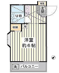 ホワイトコート新浦安[2階]の間取り