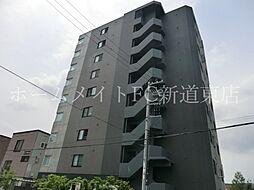 北海道札幌市東区北四十一条東5丁目の賃貸マンションの外観