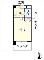 第7和興ビル[2階]の間取り