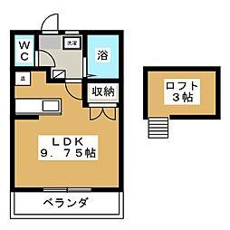 PARK YOU FUJIMI[2階]の間取り