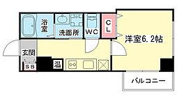 大阪府大阪市都島区高倉町2丁目の賃貸マンションの間取り