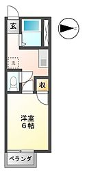 Ks town III[2階]の間取り