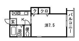 シージョイII[2階]の間取り
