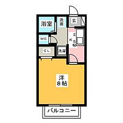 サン・friendsOKS[2階]の間取り
