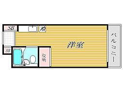 埼玉県熊谷市本石2丁目の賃貸マンションの間取り