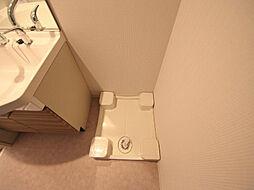 プレサンス丸の内レジデンスの脱衣所 室内洗濯機置き場