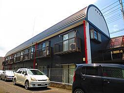 埼玉県北本市本町2丁目の賃貸アパートの外観
