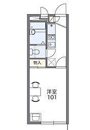 プチフローラ[1階]の間取り