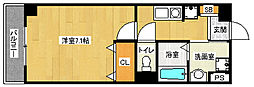 京都府京都市南区東九条西山町の賃貸マンションの間取り