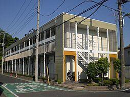 埼玉県戸田市美女木7丁目の賃貸アパートの外観