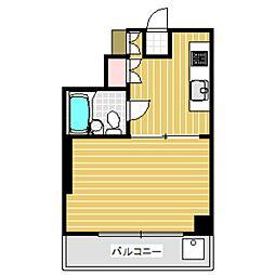 ピュアエリートマンション[4階]の間取り