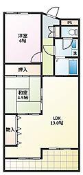 愛知県名古屋市名東区牧の原3の賃貸マンションの間取り