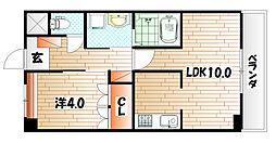 レマーレ[2階]の間取り