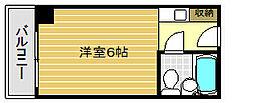 カサベラ神戸[9階]の間取り