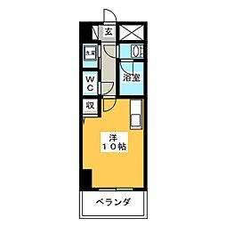 Park Residence 河崎[5階]の間取り