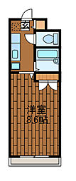 グランメール町田[1階]の間取り
