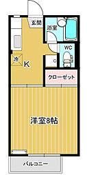 コートダジュール[1階]の間取り
