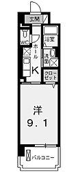 エクセルソフィア[6階]の間取り