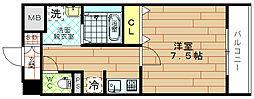 レジュールアッシュBENTEN[10階]の間取り