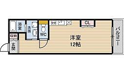 ライフデザイン江戸堀[10階]の間取り