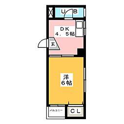 第5光ハイツ[3階]の間取り