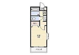 メゾンマリン八景[1階]の間取り