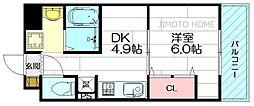 第18関根マンション[4階]の間取り