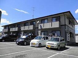 広島県三原市明神2丁目の賃貸アパートの外観