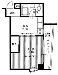 東京都豊島区長崎1丁目の賃貸マンションの間取り