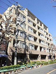 東京都北区王子4の賃貸マンションの外観