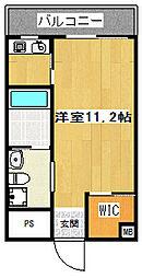 KITAHAMA CRAFT[8階]の間取り